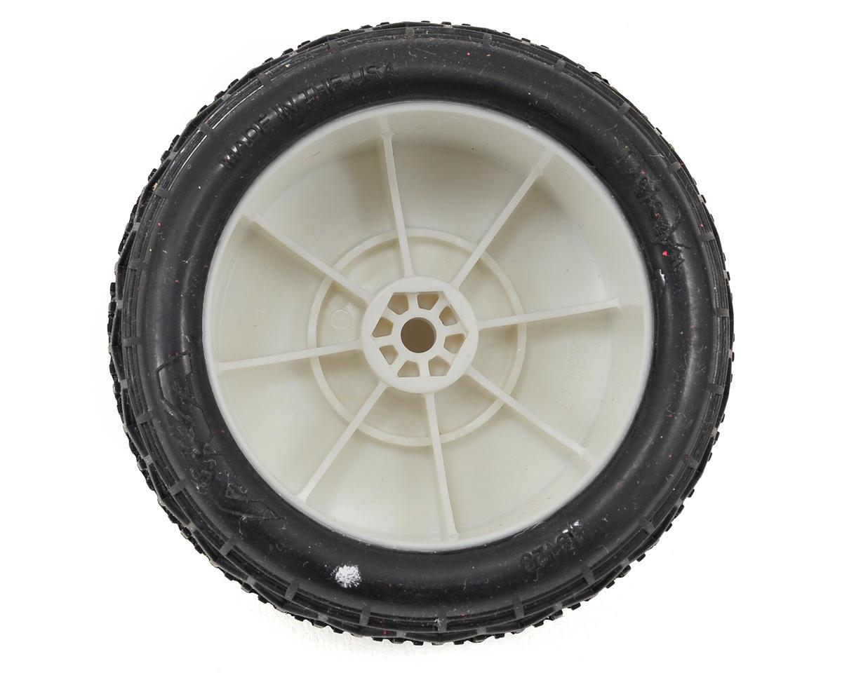 "AKA ""EVO"" Deja Vu 2.4"" Rear Buggy Pre-Mounted Tires (2) (White) (Ultra Soft)"