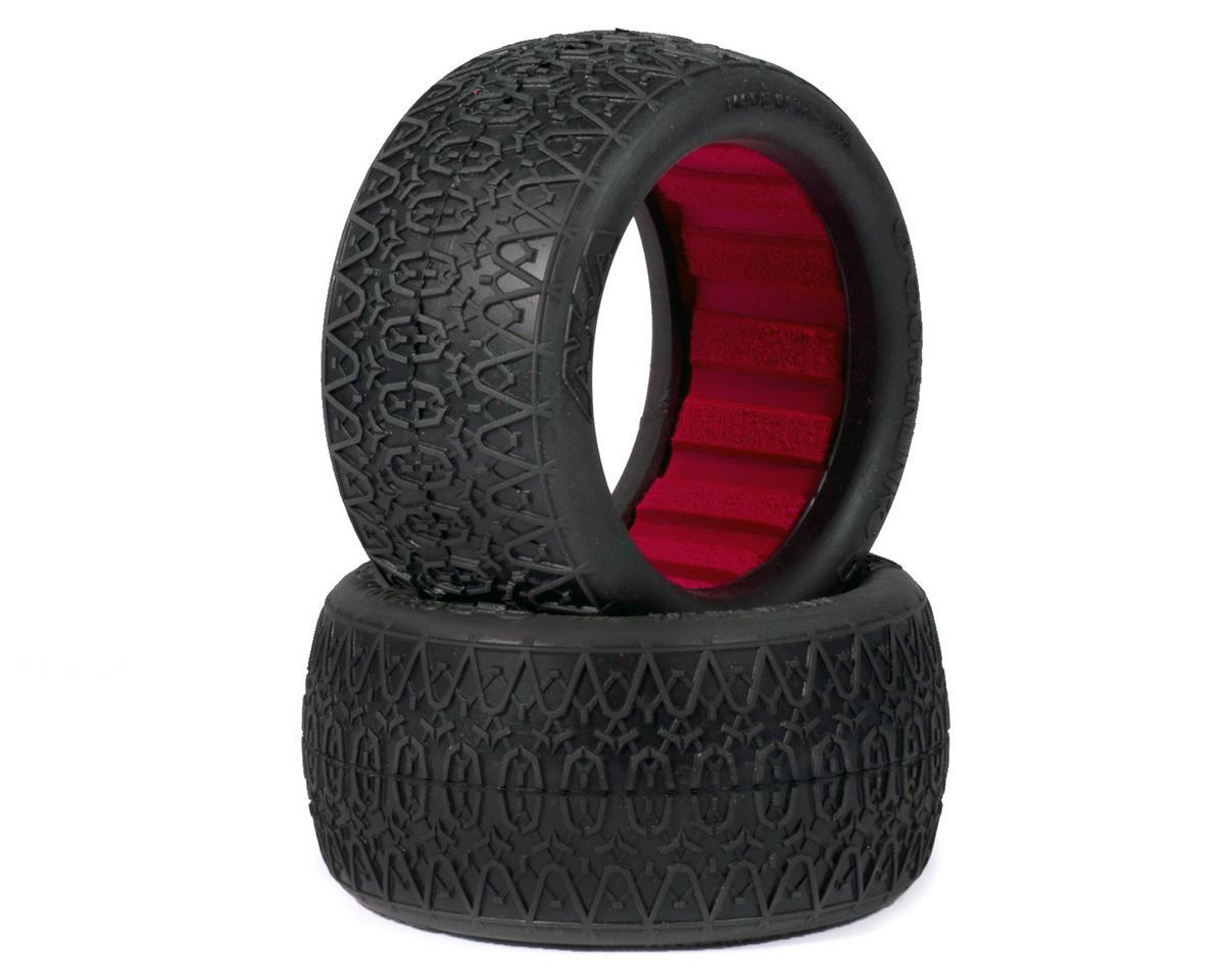 "AKA ""EVO"" Chain Link Rear Buggy Tires (2) (Super Soft)"