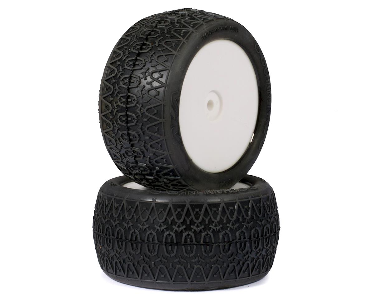 "AKA ""EVO"" Chain Link 2.4"" Rear Pre-Mounted Tires (2) (White) (Ultra Soft)"