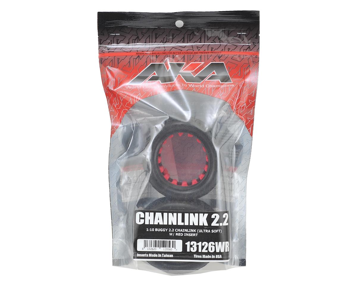 "Chain Link 2.2"" Rear Buggy Tires (2) (Ultra Soft) by AKA"