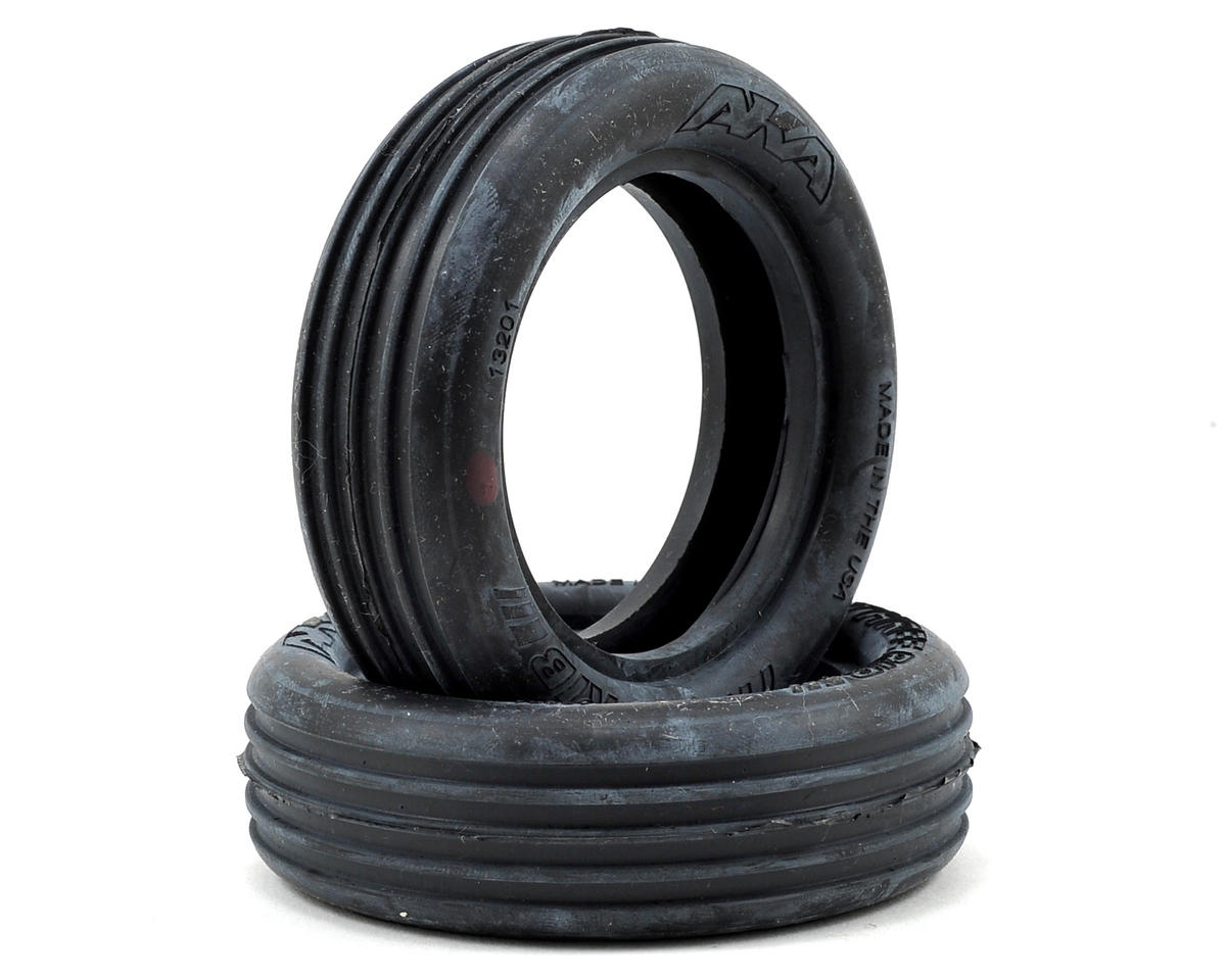 "Three Rib 2.2"" Front 2WD Buggy Tires (2) by AKA"