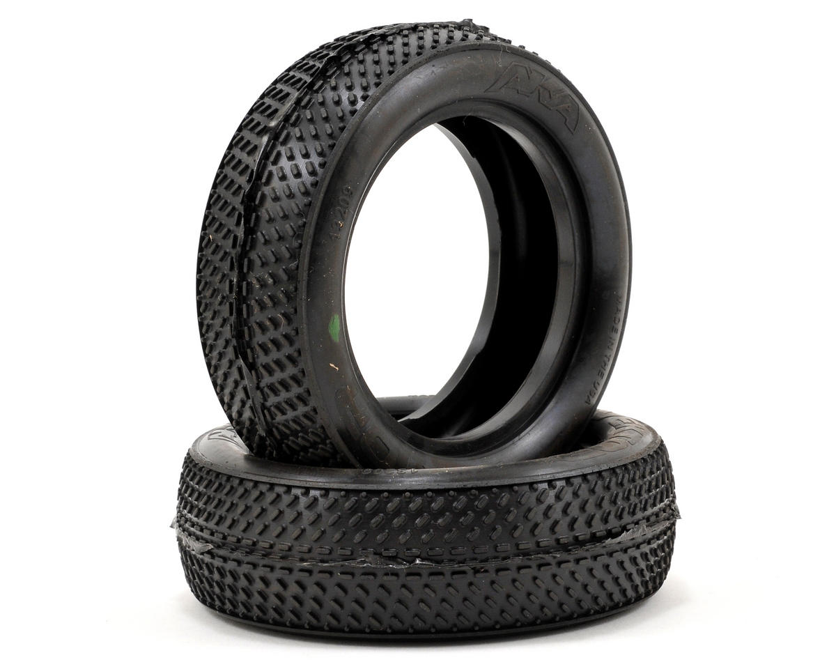 "AKA Vektor 2.2"" Front 2WD Buggy Tires (2)"