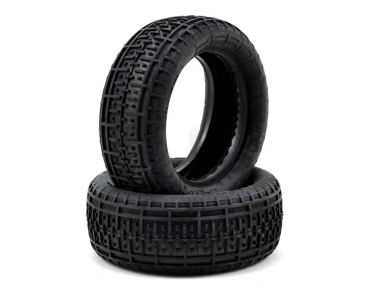 "AKA Rebar 2.2"" Front 4WD Buggy Tires (2) (Clay)"