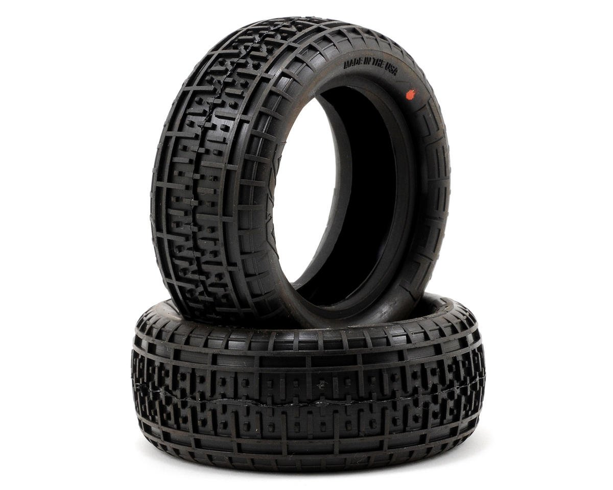 "Rebar 2.2"" Front 4WD Buggy Tires (2) (Super Soft) by AKA"