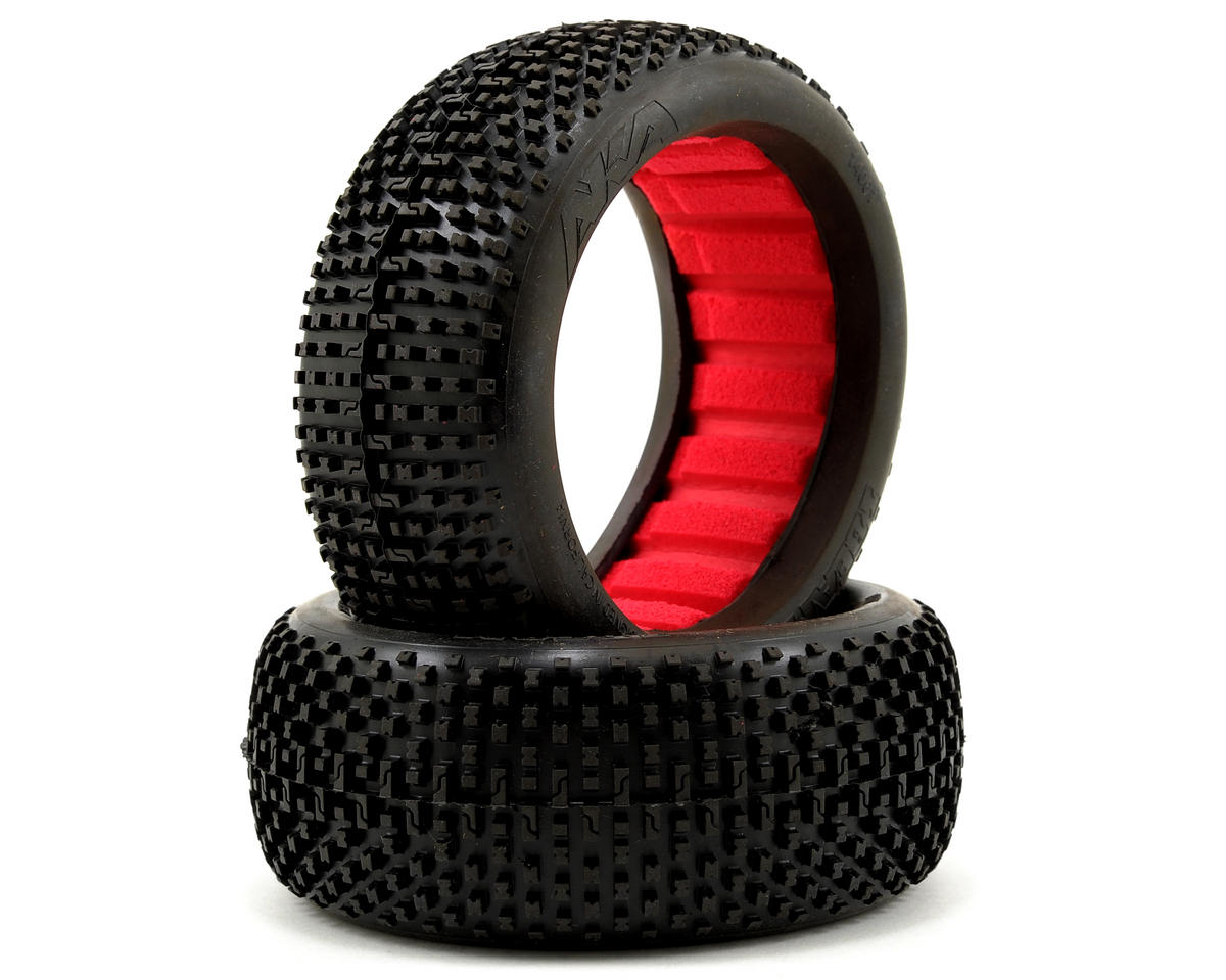 AKA I-Beam 1/8 Buggy Tires (2) (Medium - Long Wear)