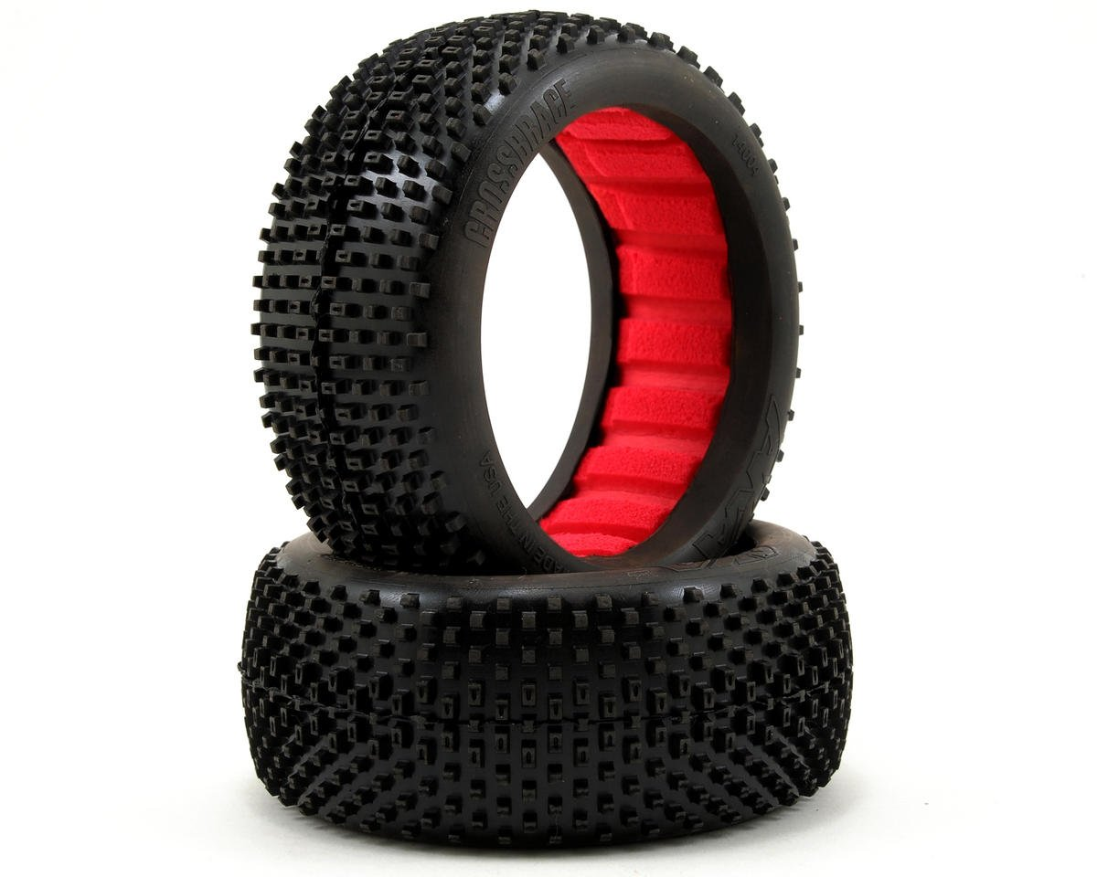 AKA Cross Brace 1/8 Buggy Tires (2) (Soft - Long Wear)