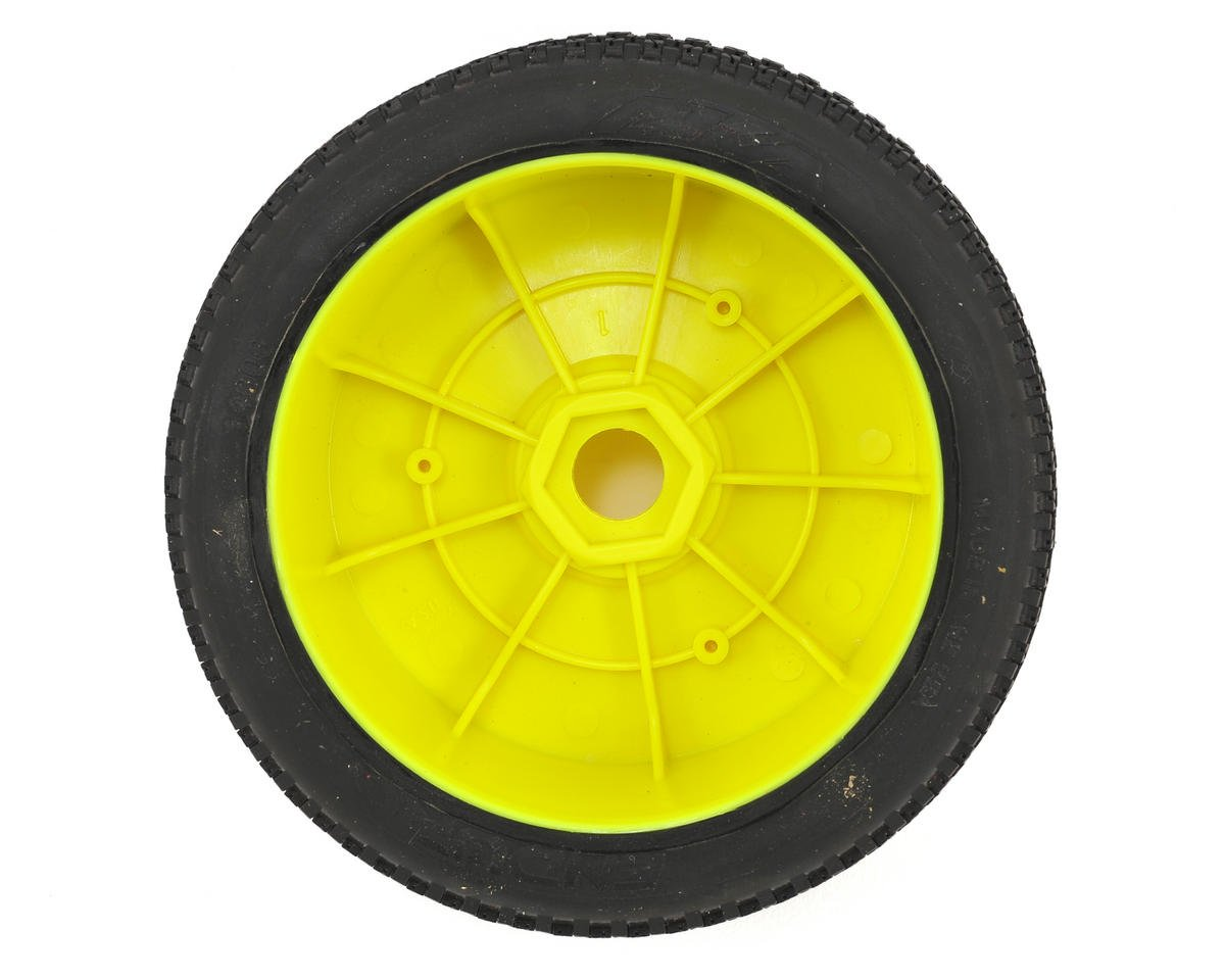 AKA Enduro 1/8 Buggy Pre-Mounted Tires (2) (Yellow) (Soft - Long Wear)