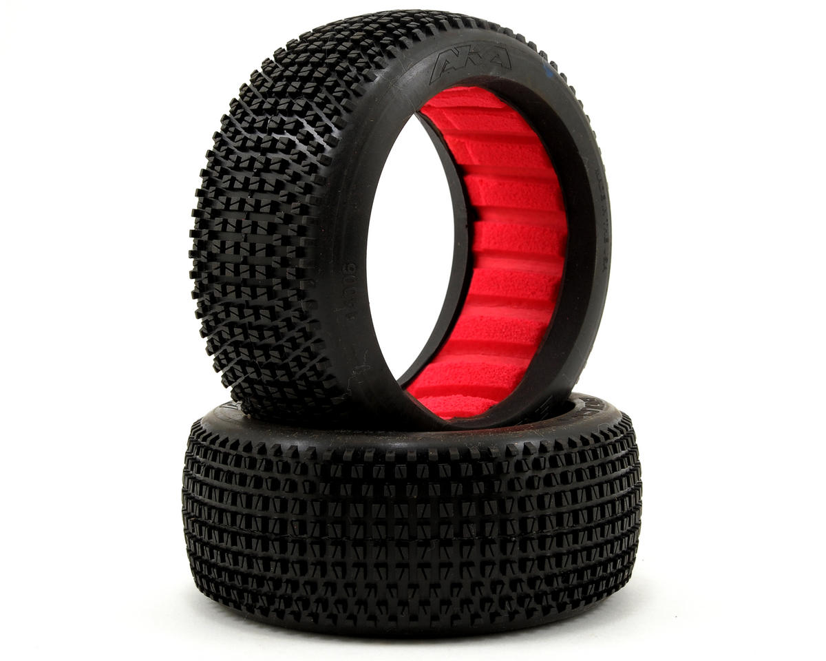 AKA Enduro 1/8 Buggy Tires (2) (Medium - Long Wear)
