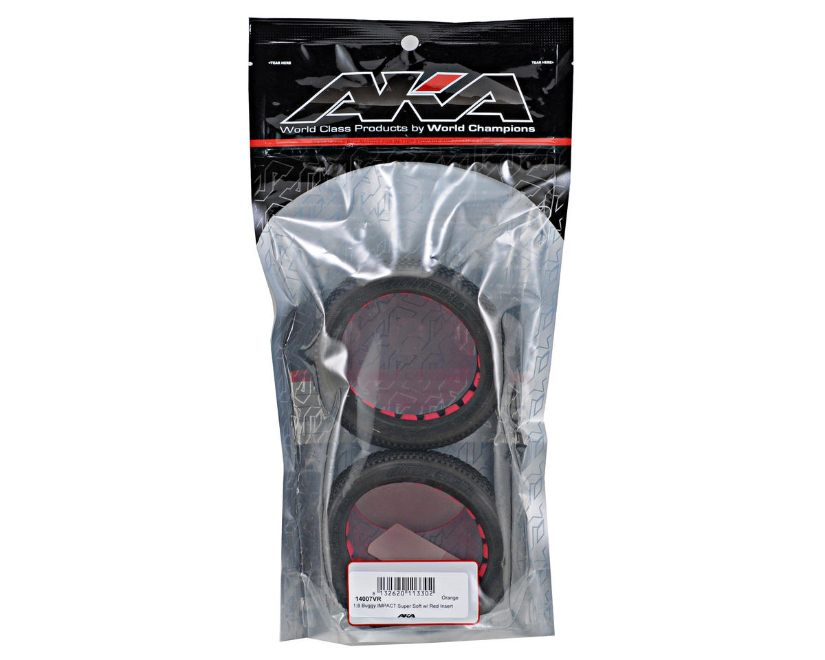 AKA Impact 1/8 Buggy Tires (2) (Super Soft)