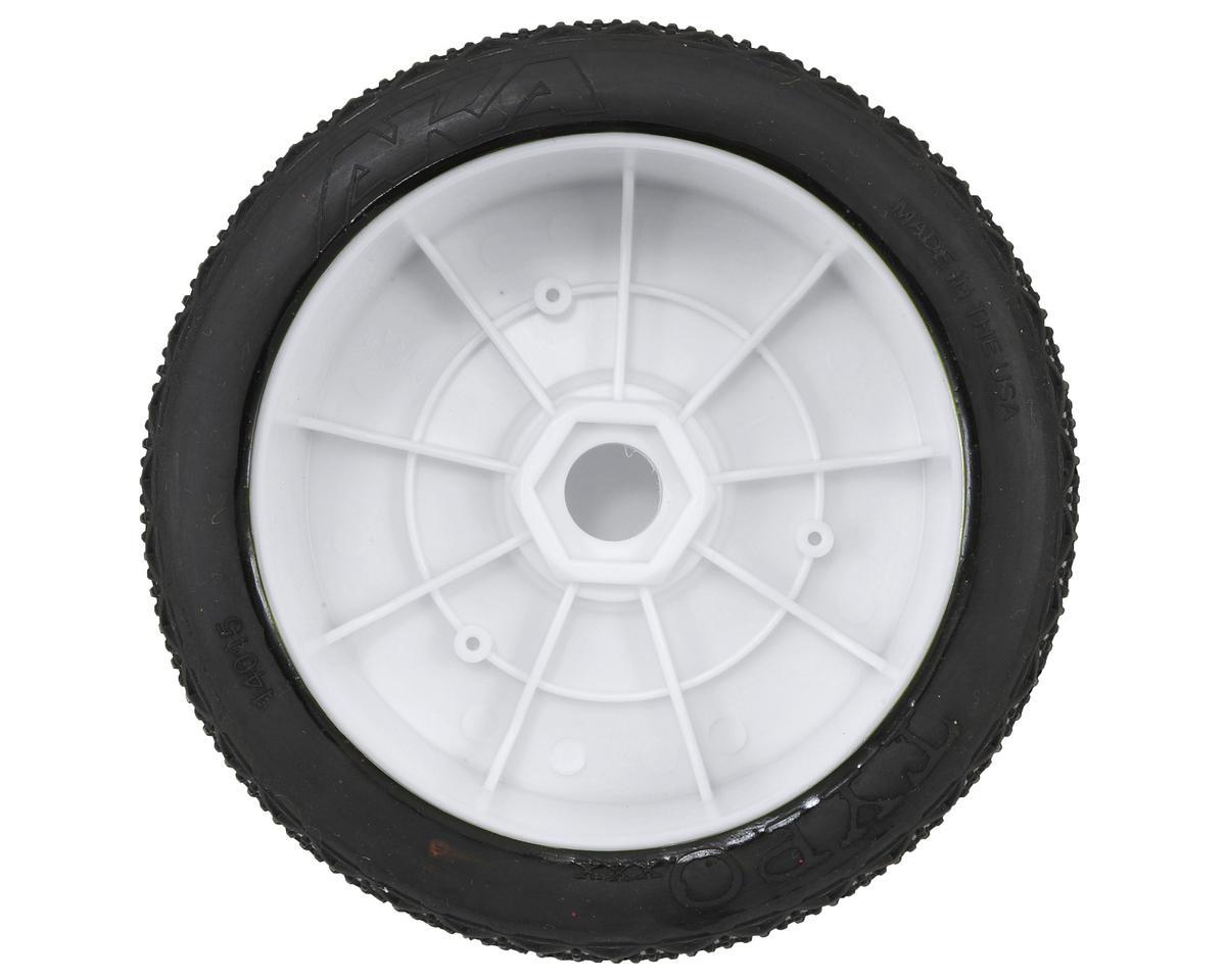 AKA Typo 1/8 Buggy Pre-Mounted Tires (2) (White) (Soft)