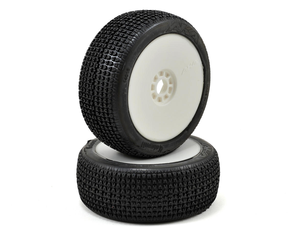 AKA Catapult 1/8 Buggy Pre-Mounted Tires (2) (White)