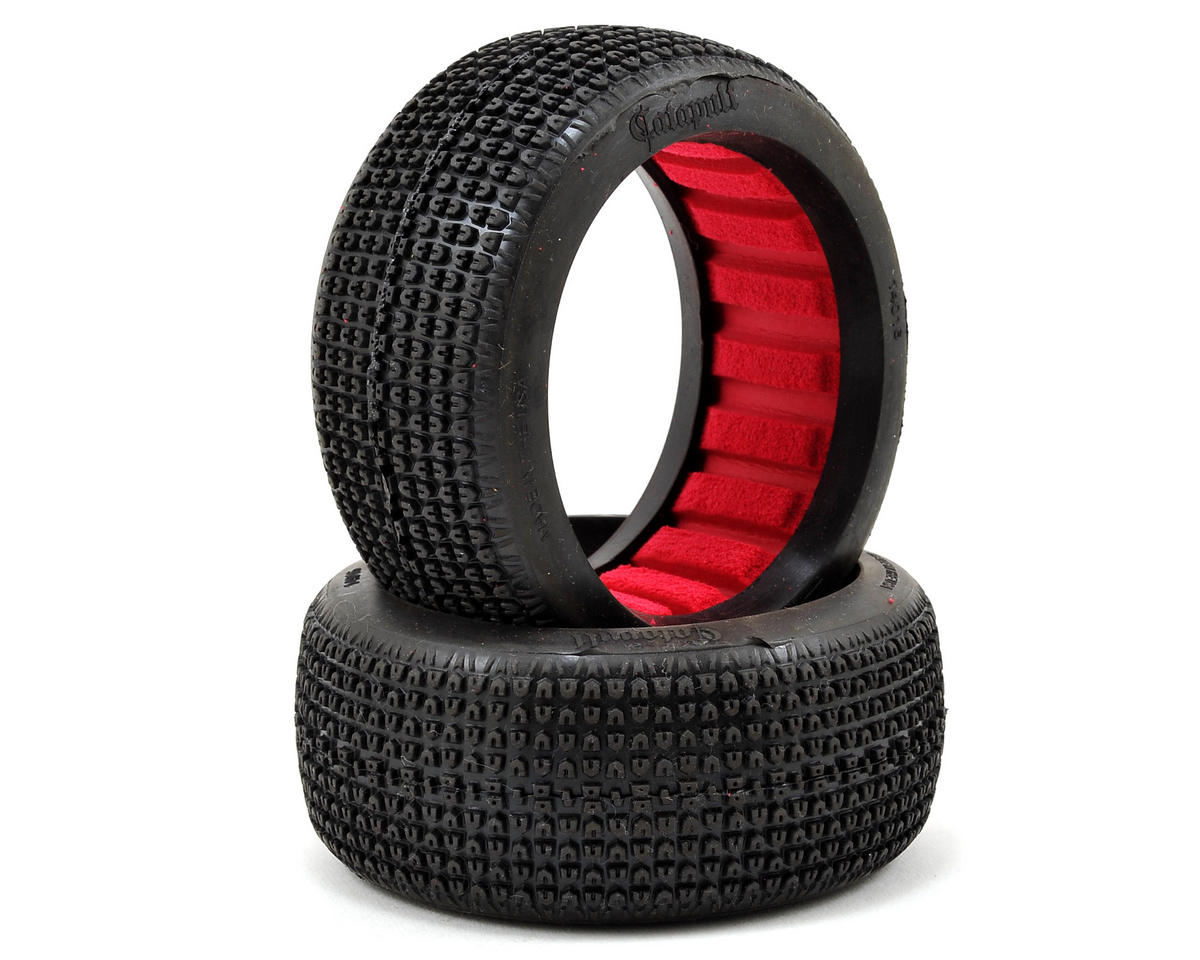 Catapult 1/8 Buggy Tires (2) (Super Soft) by AKA