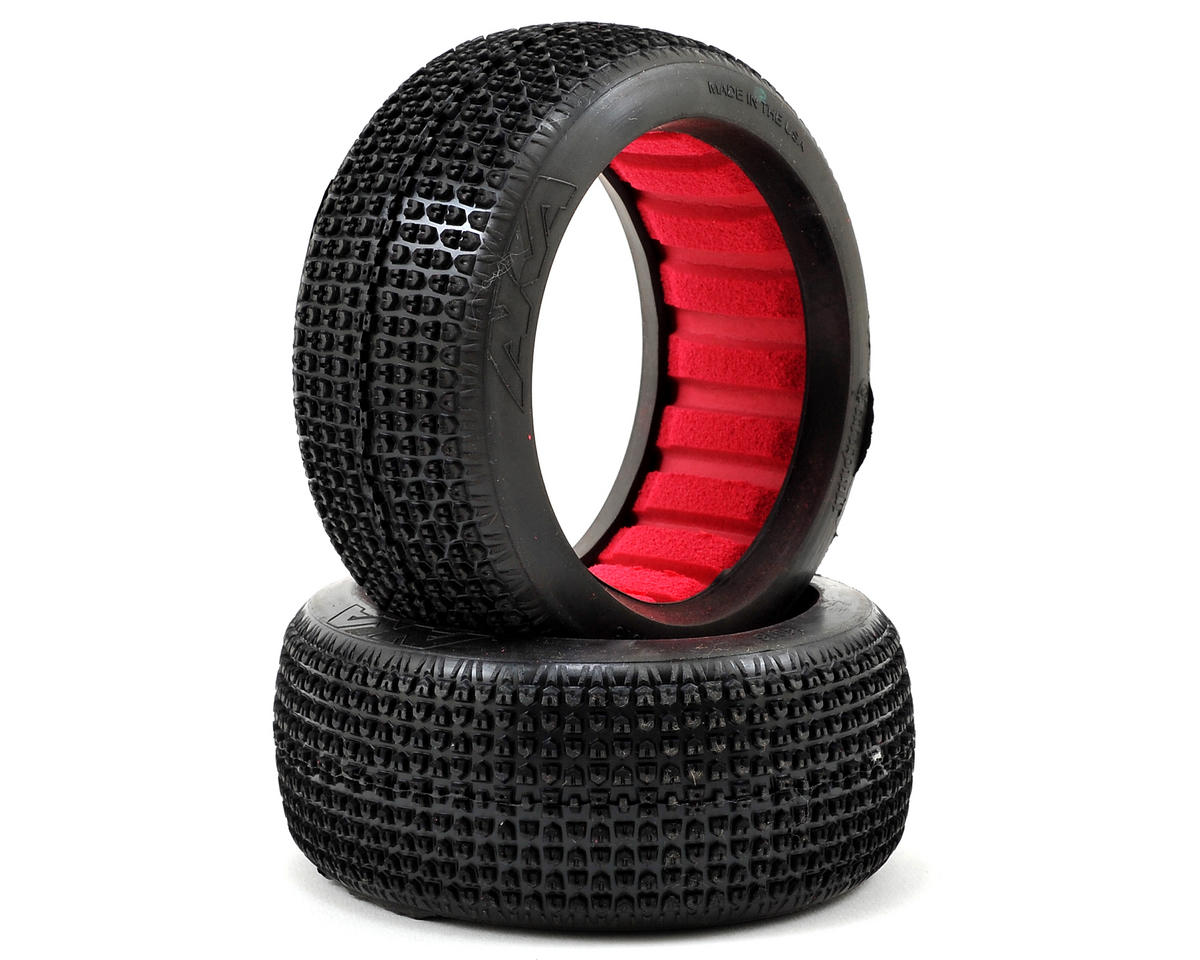 Catapult 1/8 Buggy Tires (2) (Soft - Long Wear) by AKA