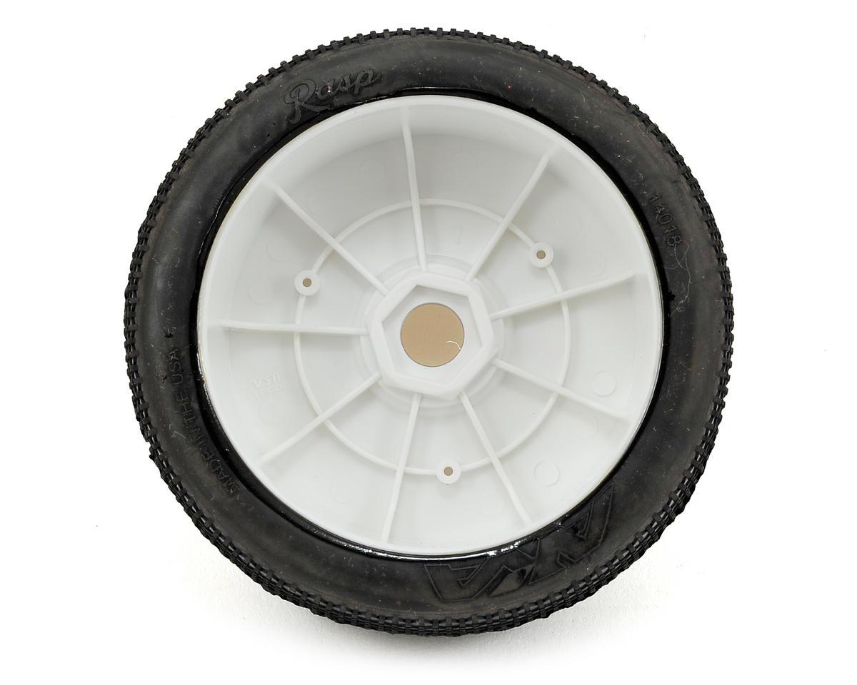 AKA Rasp 1/8 Buggy Pre-Mounted Tires (2) (White)