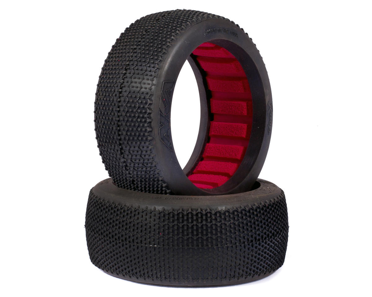AKA Rasp 1/8 Buggy Tires (2) (Soft)