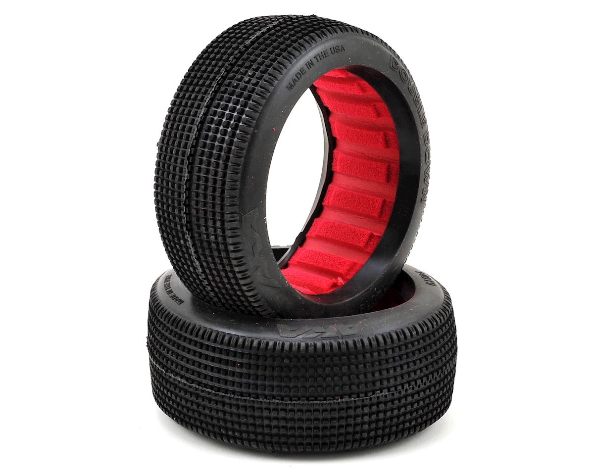 Double Down 1/8 Buggy Tires (2) (Super Soft) by AKA