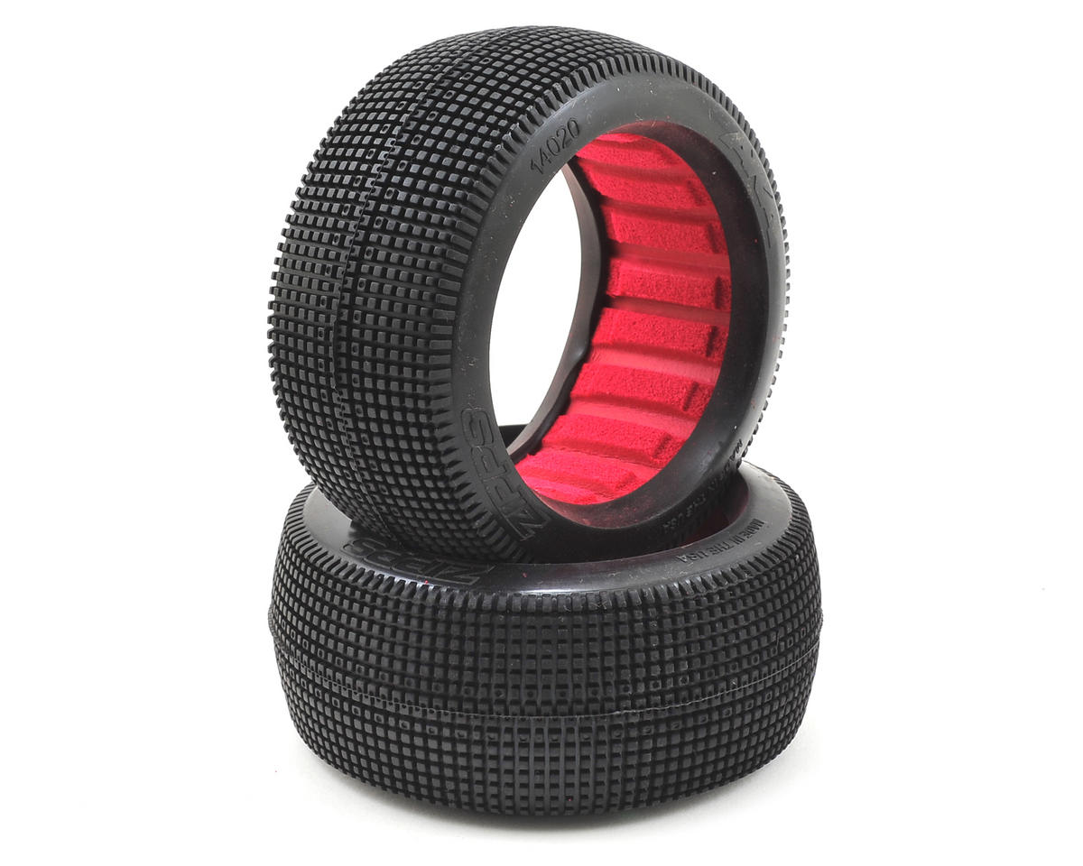 Zipps 1/8 Buggy Tires (2) (Soft) by AKA