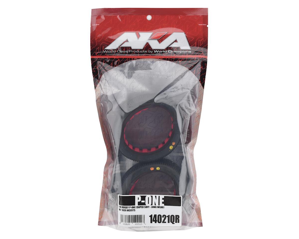 AKA P1 1/8 Buggy Tires (2) (Super Soft - Long Wear)