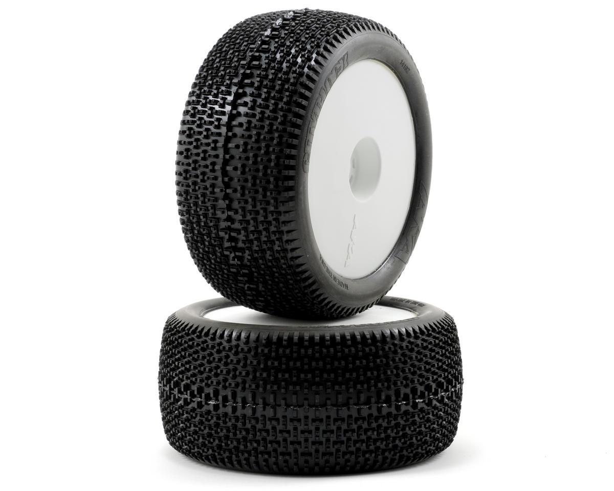AKA Cityblock 1/8 Truggy Pre-Mounted Tires (Medium) (2)