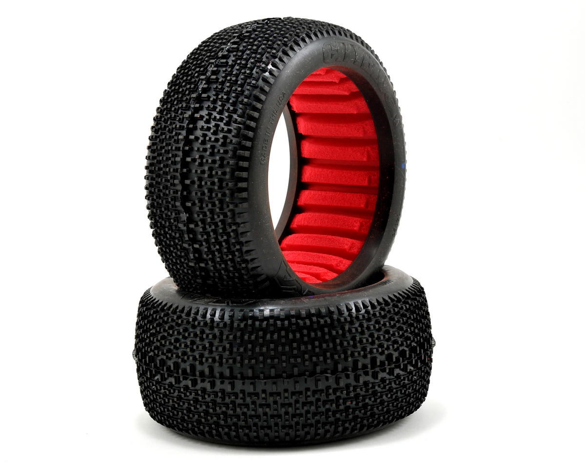EVO Cityblock 1/8 Truggy Tires (2) (Super Soft) by AKA
