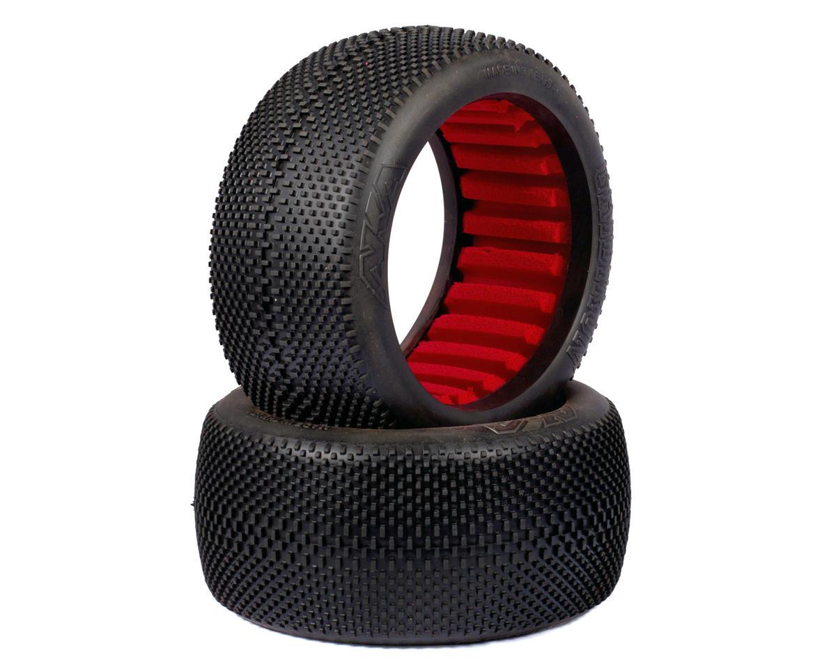 EVO Grid Iron 1/8 Truggy Tires (2) (Soft) by AKA