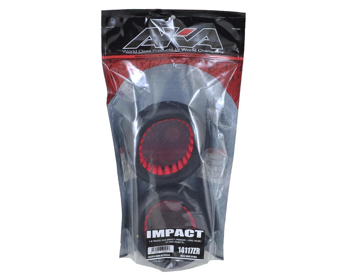 AKA EVO Impact 1/8 Truggy Tires (2) (Medium - Long Wear)