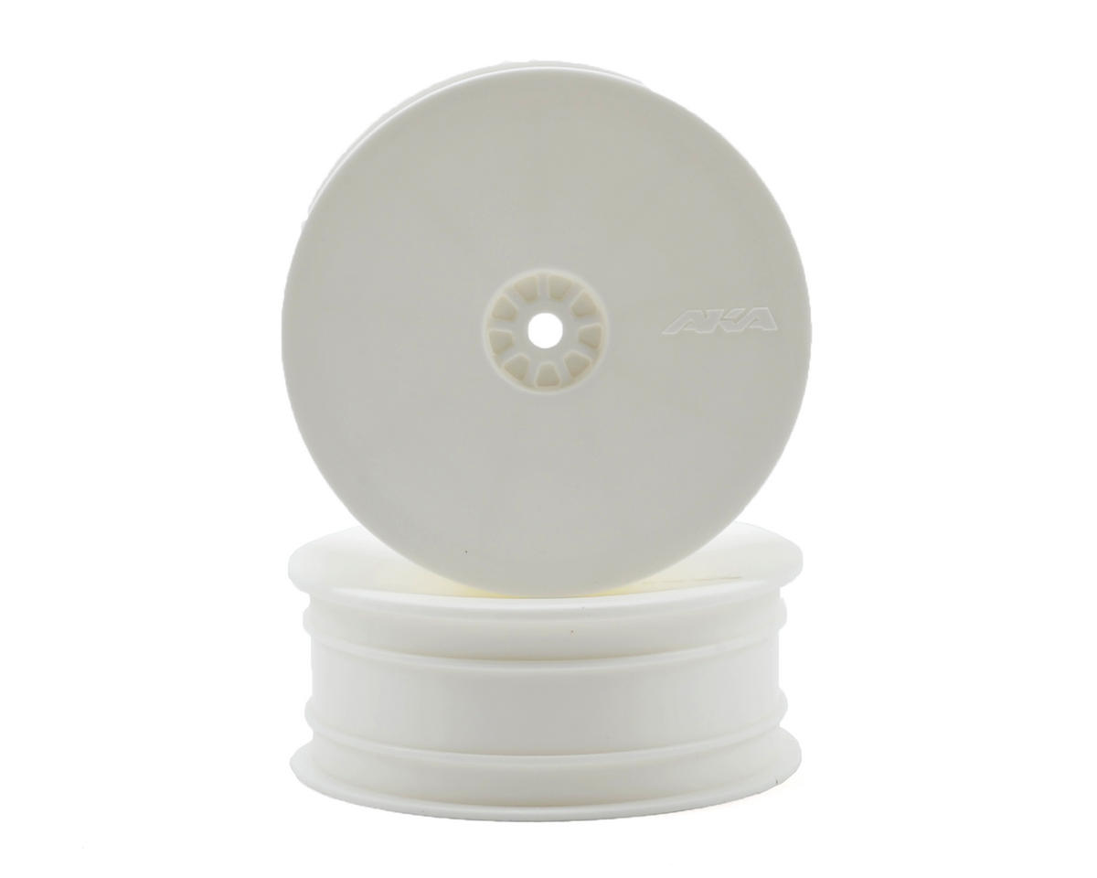 """12mm Hex """"HEXlite"""" 2.2 Front Wheels (2) (B6/RB6) (White) by AKA"""
