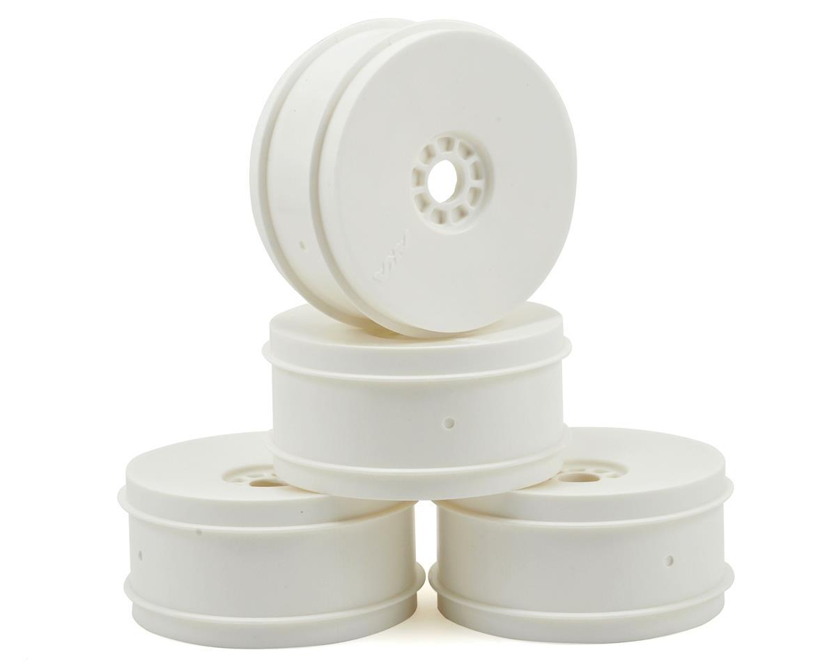 EVO 1/8th Off Road Wheels (4) (White) by AKA