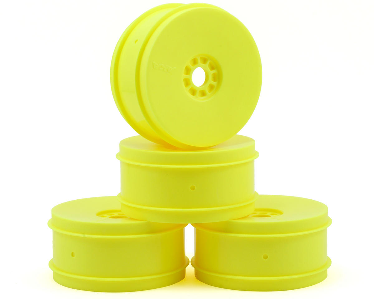 EVO 1/8th Off Road Wheels (4) (Yellow) by AKA