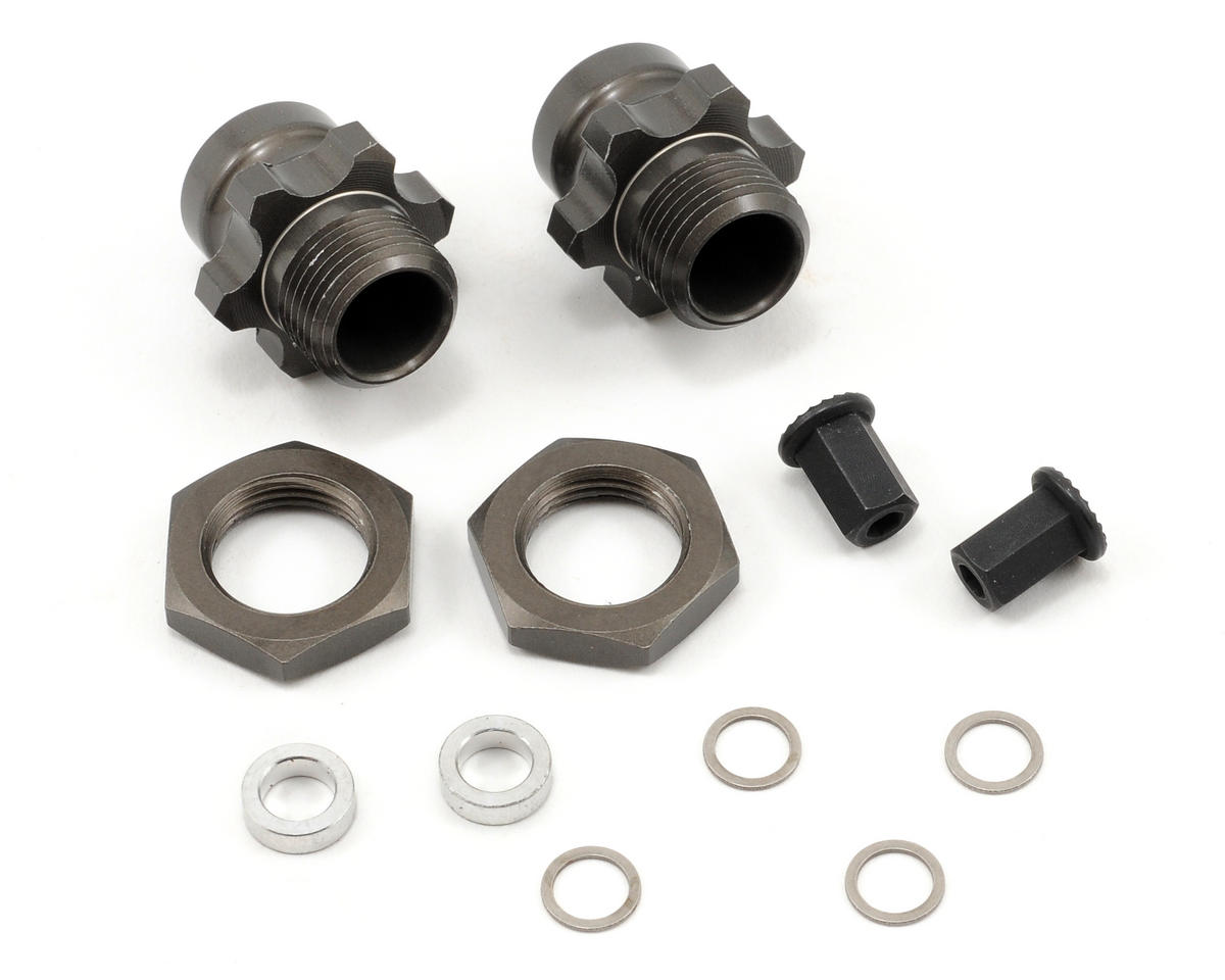 AKA Slash 1/8 Wheel Adapters (Rear Only Kit)