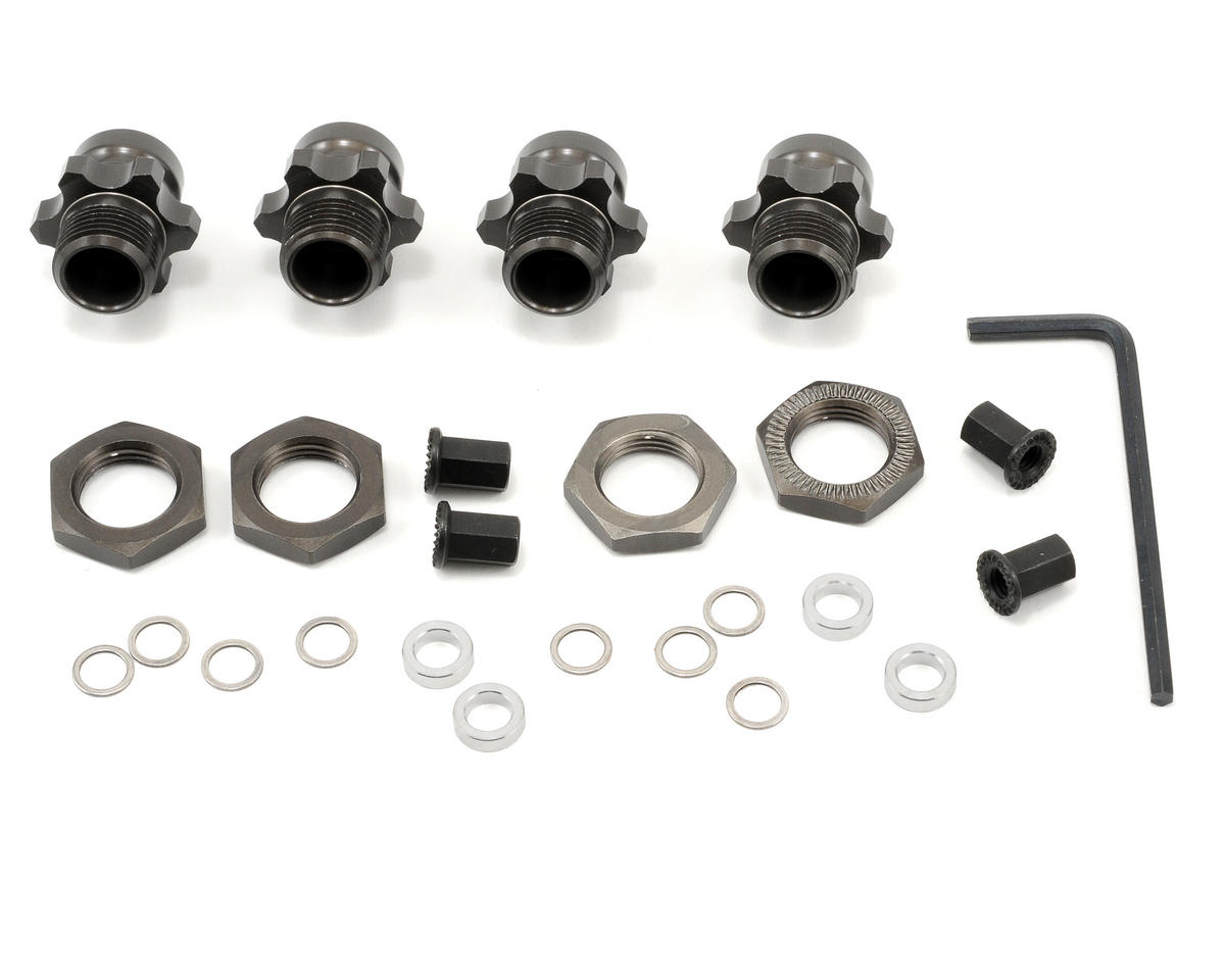 AKA Blitz 1/8 Wheel Adapters (Complete Kit)