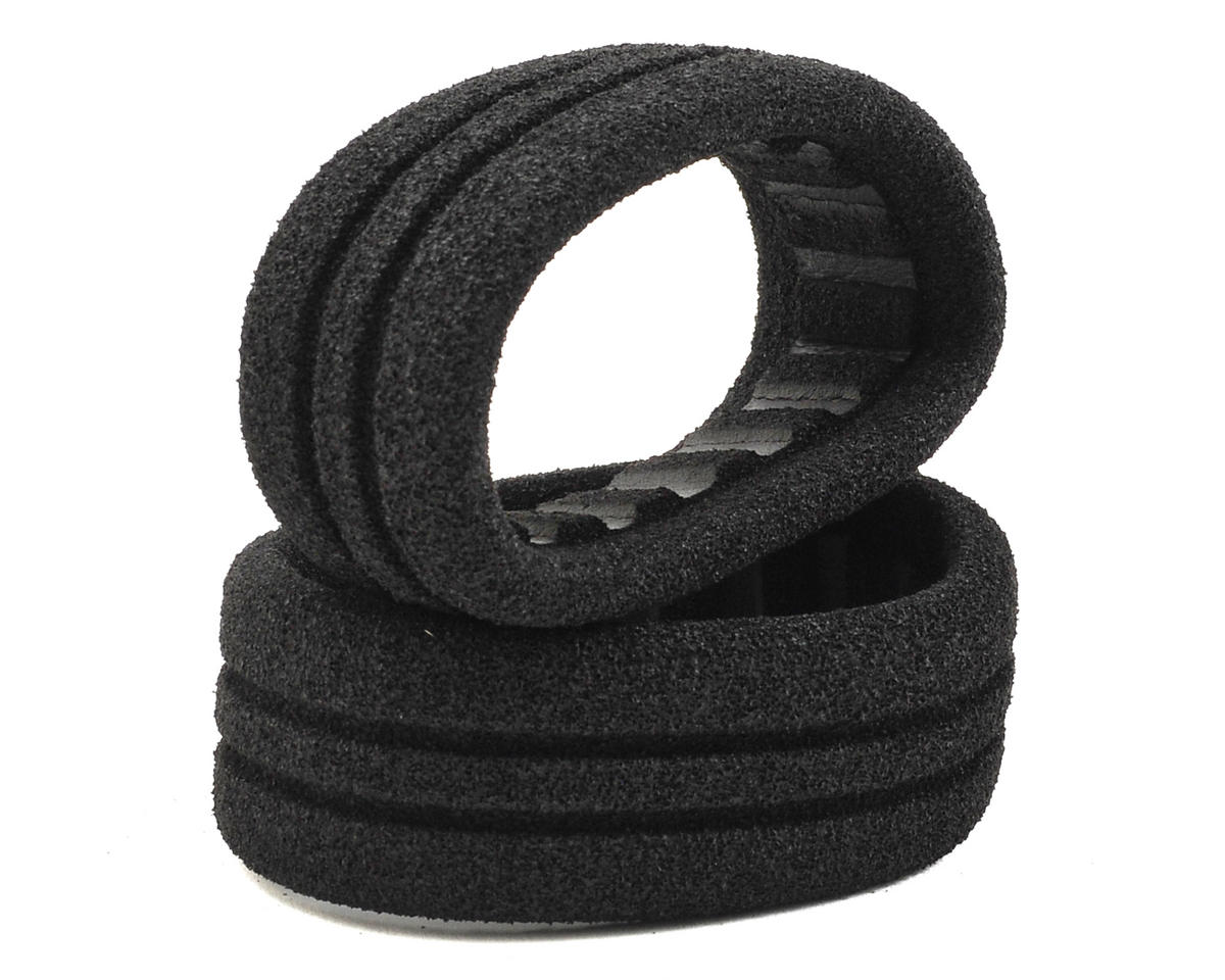 AKA EVO 1/10 4WD 2.4 Front Buggy Closed Cell Inserts (Black) (2) (Medium)