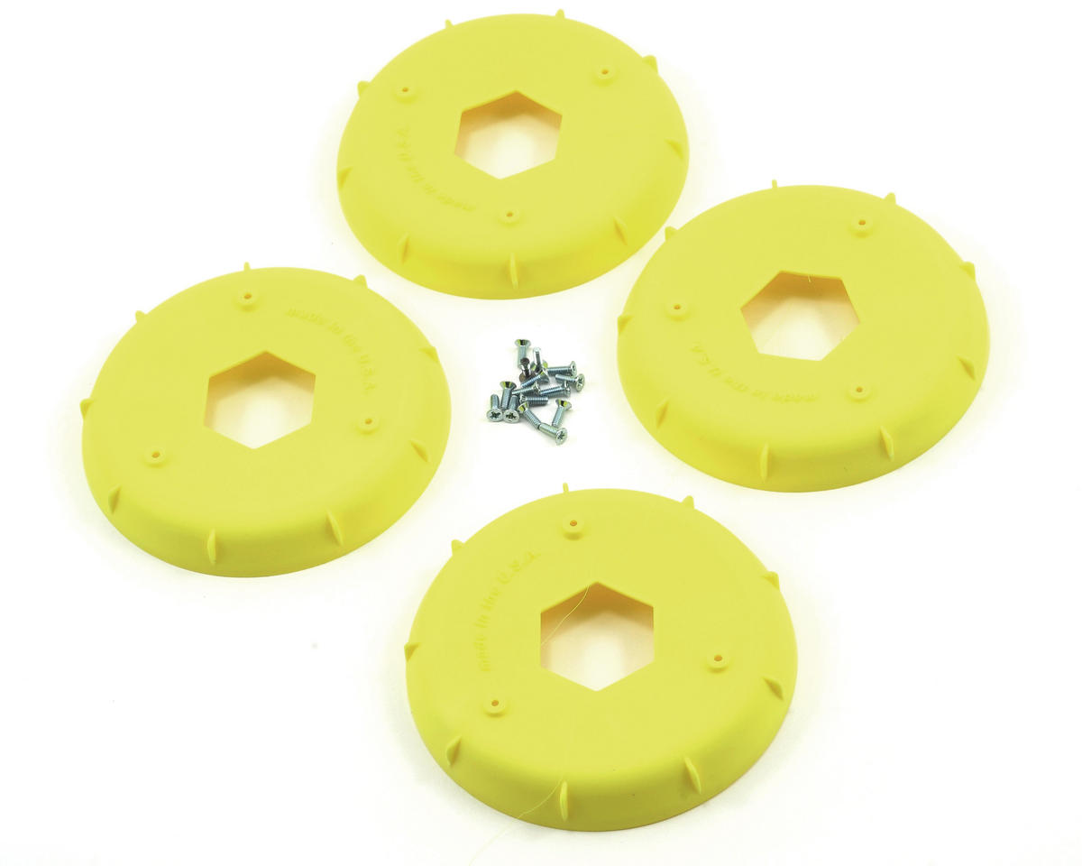AKA EVO 1/8th Wheel Stiffener (Yellow) (4)