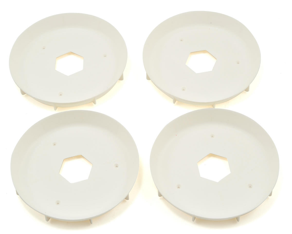 AKA EVO Truggy Wheel Stiffener (White) (4)