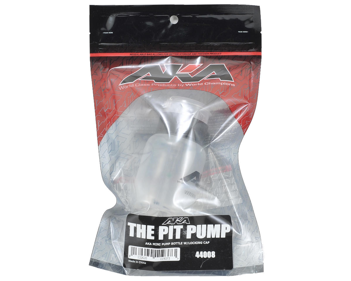 Mini Pump Bottle w/Locking Cap by AKA