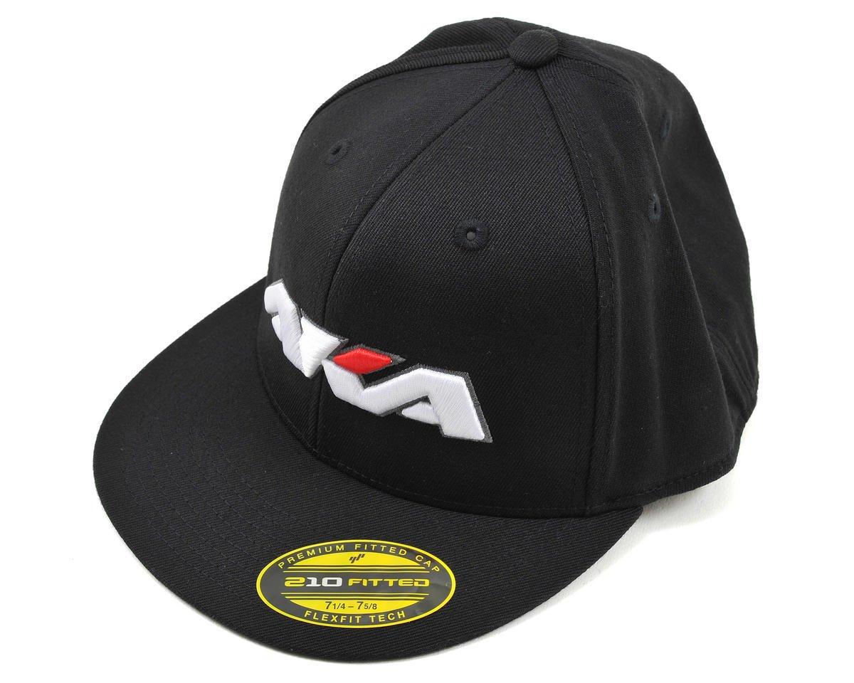 """AKA """"Flatbill"""" Baseball Cap (Black) (L/XL)"""