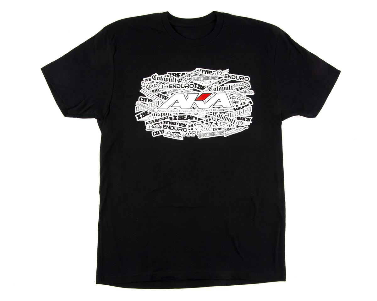 "AKA ""Sidewall"" Short Sleeve Shirt (Black) (M)"