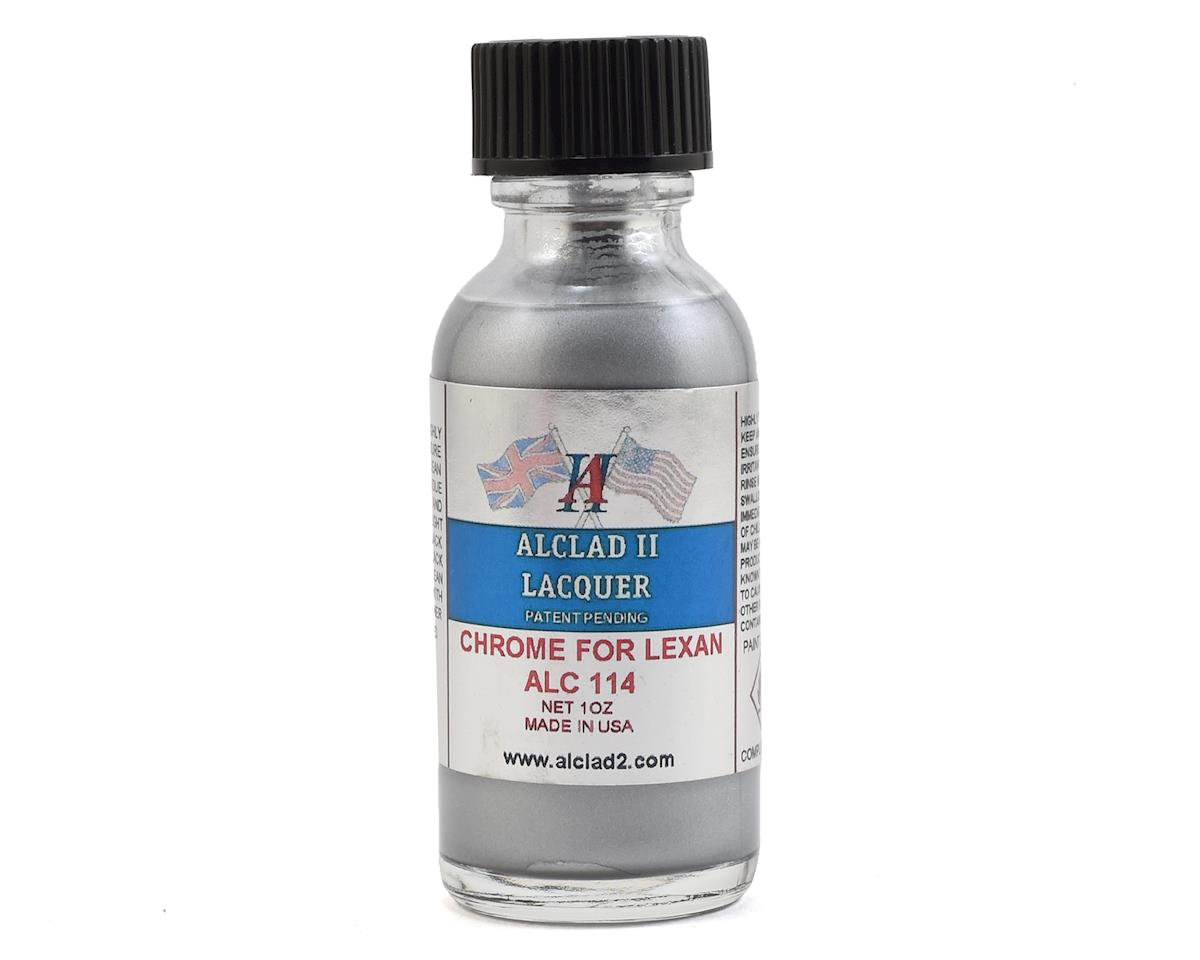 Alclad II Lacquers Lexan Model Paint (Chrome) (1oz)