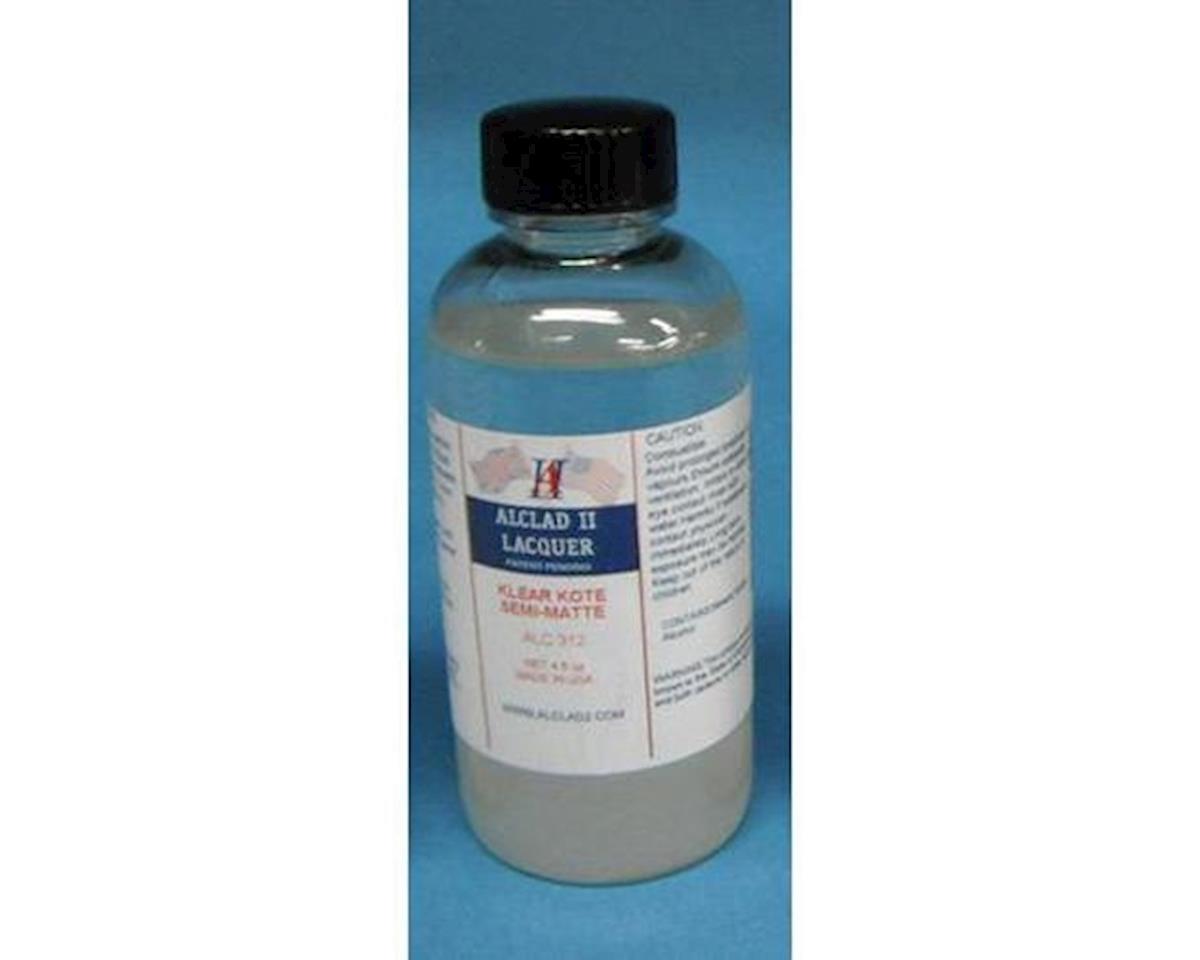 Alclad II Lacquers 4oz. Bottle Clear Coat Semi-Matte