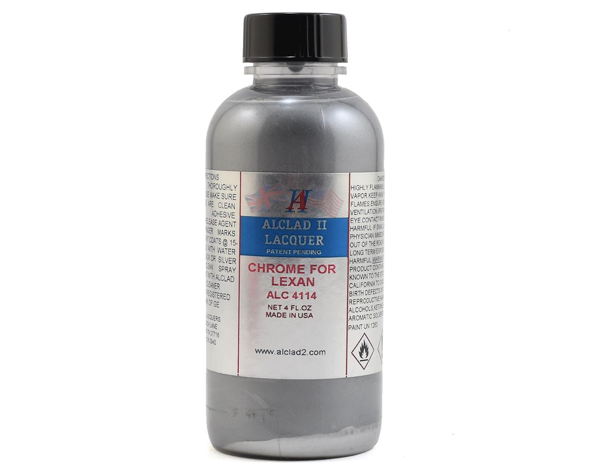 Alclad II Lacquers Lexan Model Paint (Chrome) (4oz)