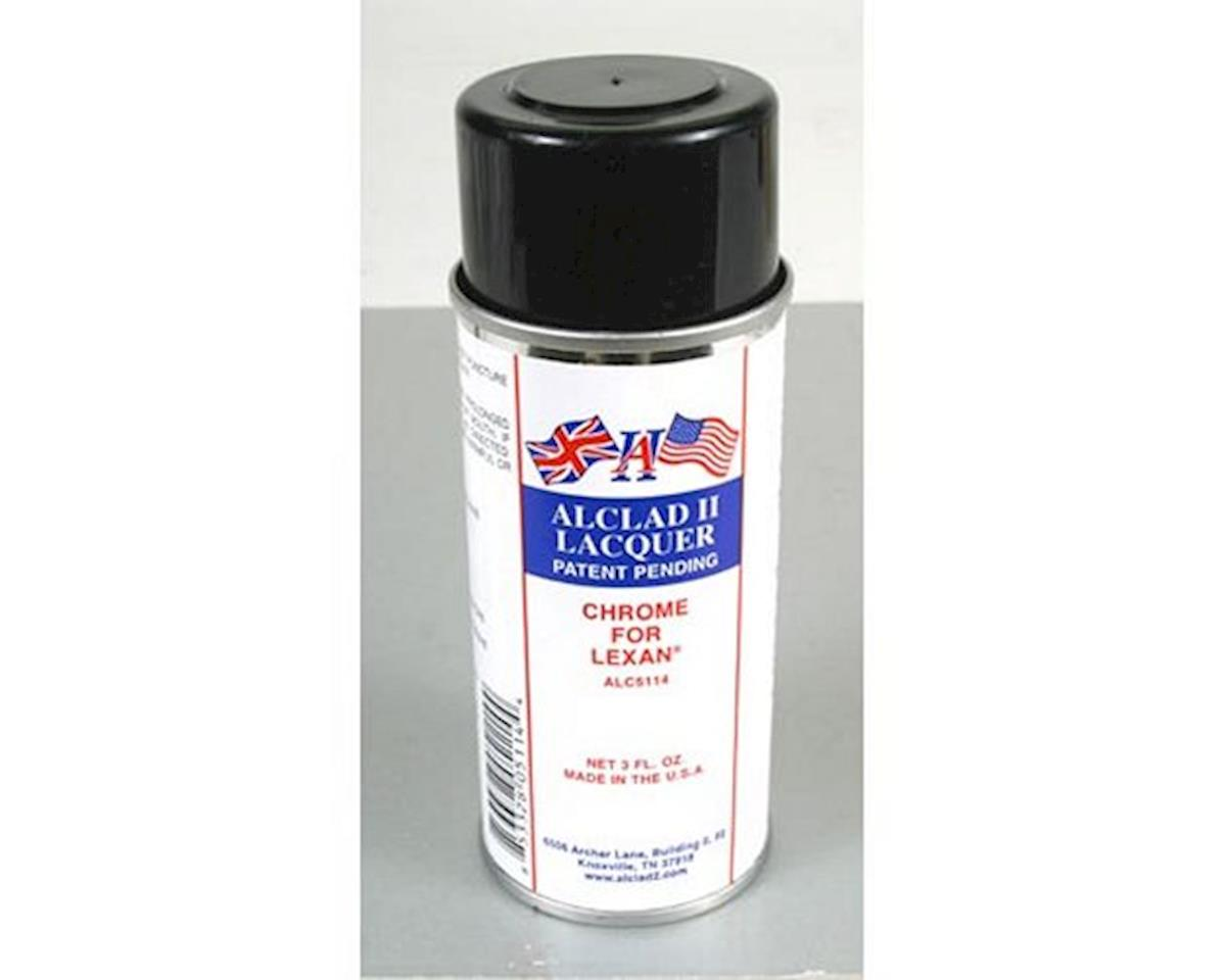 Alclad II Lacquers Chrome for Lexan Spray, 3oz