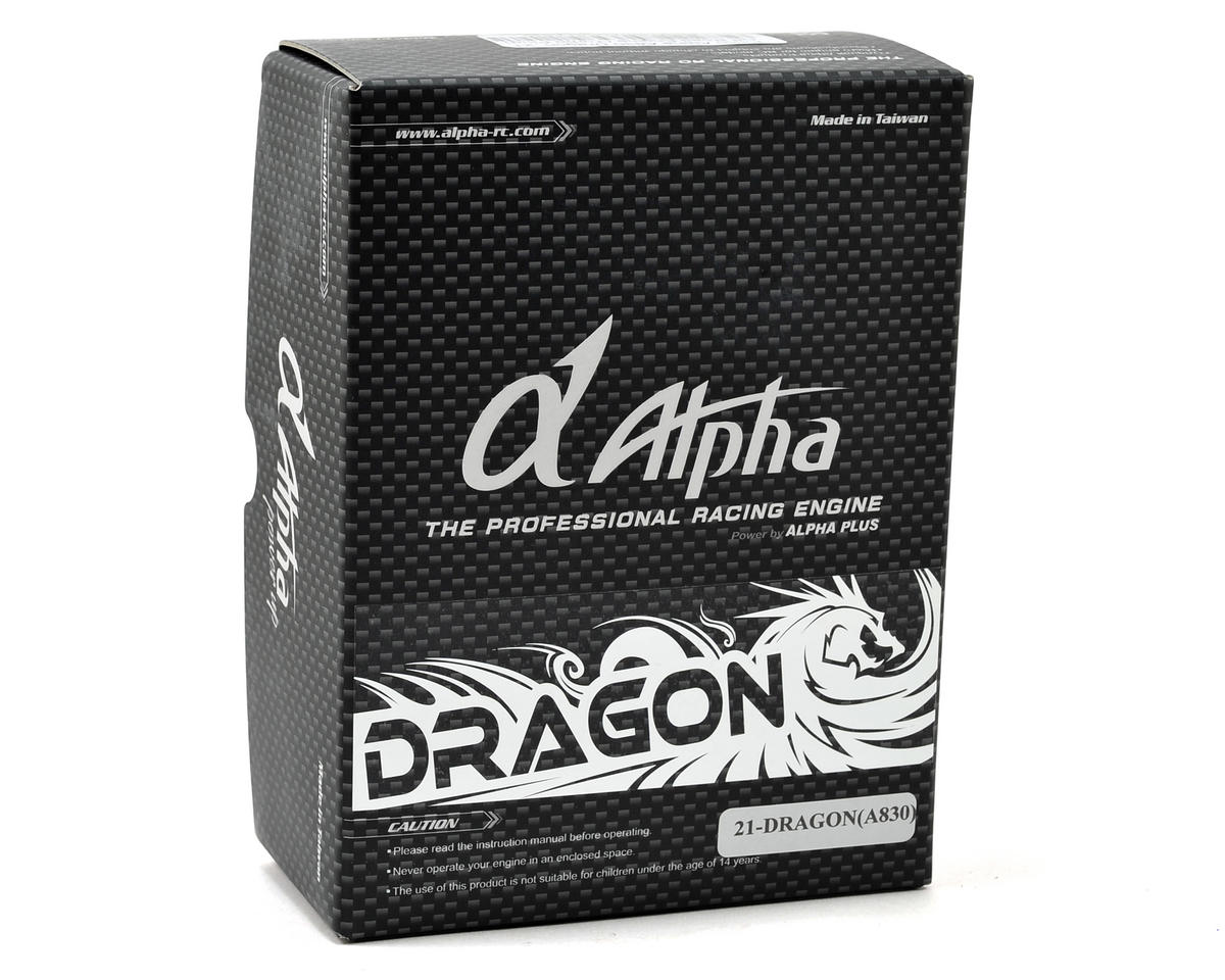 Alpha A830 Dragon 3-Port .21 Off Road Engine (Turbo Plug)