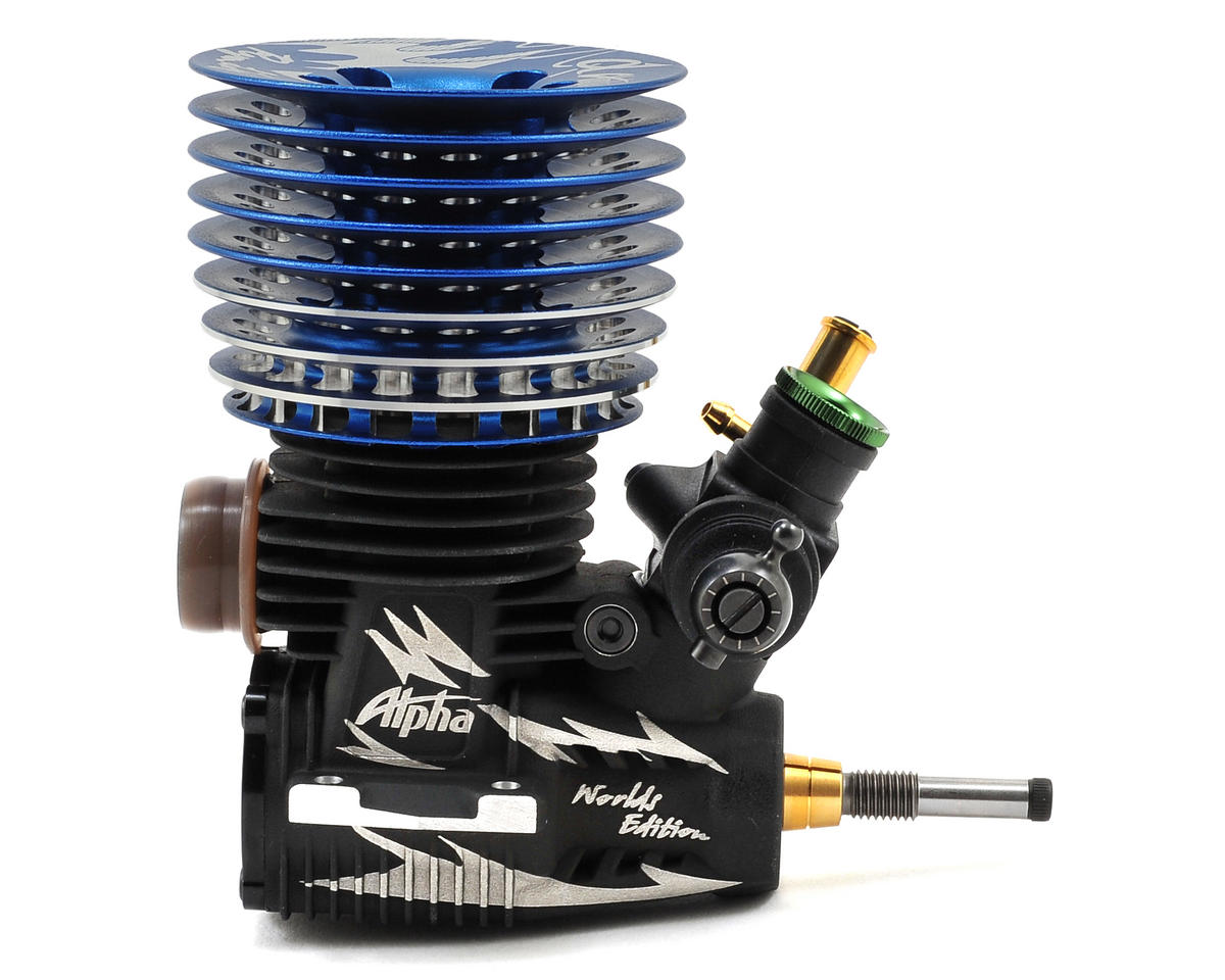 Alpha Ryan Lutz Worlds Edition Competition .21 Engine (Turbo) (Blue) (Pre-Run)
