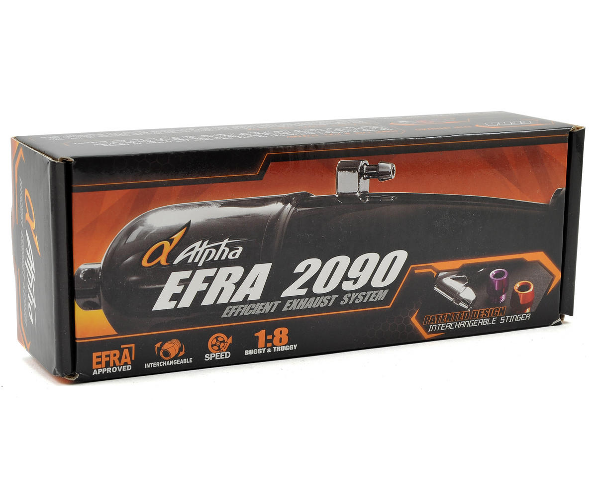 Alpha EFRA2090 Tuned Pipe & Manifold Combo