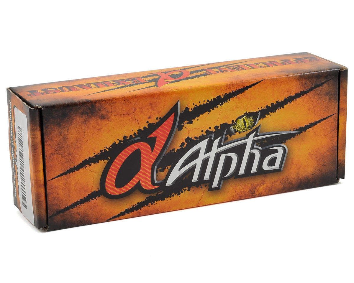 Alpha EFRA 2081 Tuned Pipe & Manifold Combo