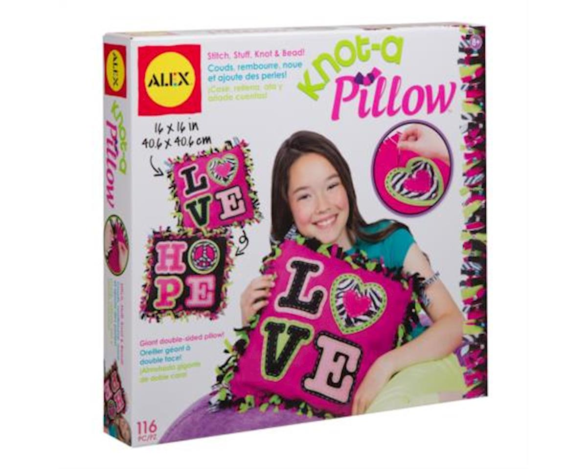 Alex Toys 1180D Giant Knot and Stitch Pillow Craft Kit