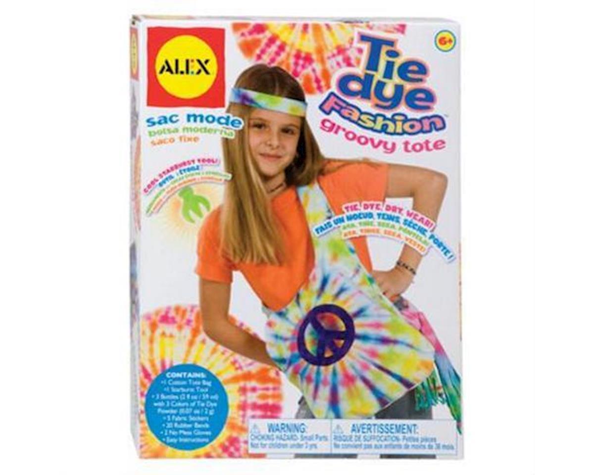 Tie Dye Fashion Groovy Tote