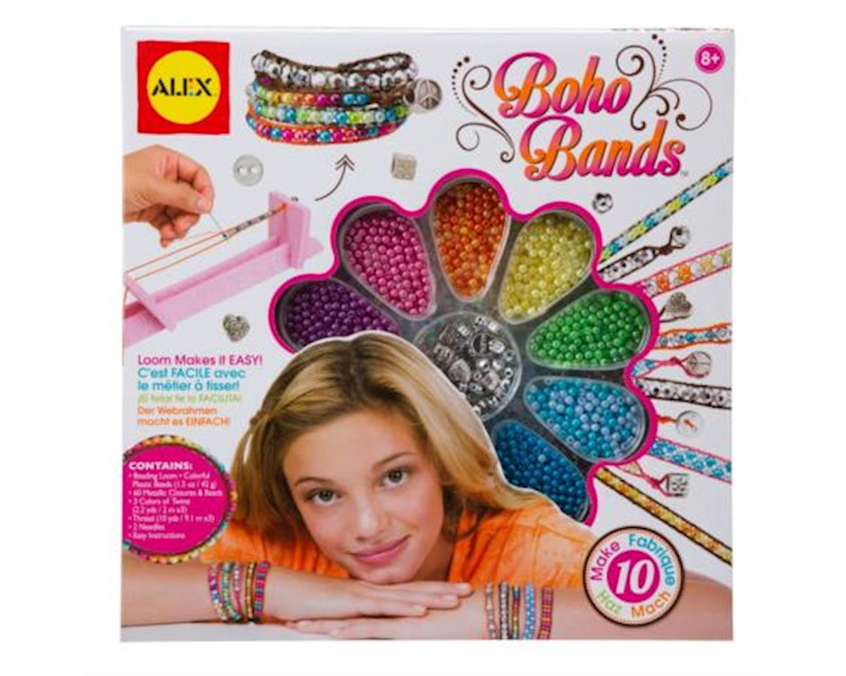 Alex Toys 1735 Do-it-Yourself Wear, Boho Bands Activity Kit with weaving Loom