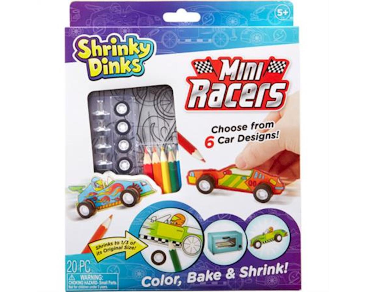 Alex Toys Shrinky Dinks Mini Racers Activity Set