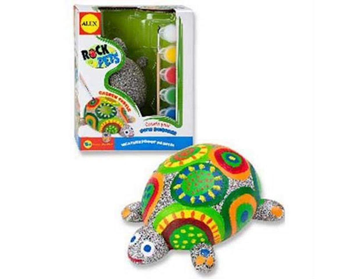 Alex Toys  Paint A Rockpet - Turtle